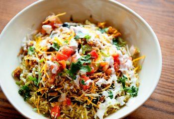 * Cactus Chicken Rice Bowl