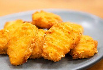 * Chicken Breast Battered Nuggets