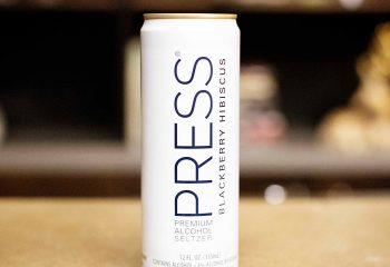 * Press Blackberry Hibiscus Hard Seltzer